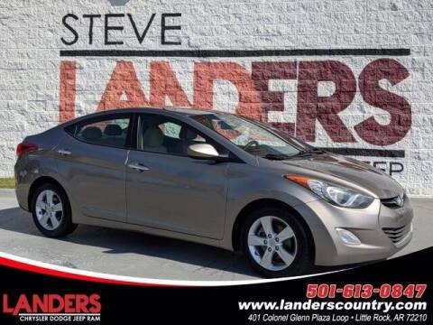 2012 Hyundai Elantra for sale at The Car Guy powered by Landers CDJR in Little Rock AR