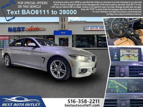 2018 BMW 4 Series for sale at Best Auto Outlet in Floral Park NY