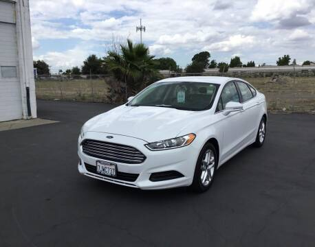 2013 Ford Fusion for sale at My Three Sons Auto Sales in Sacramento CA