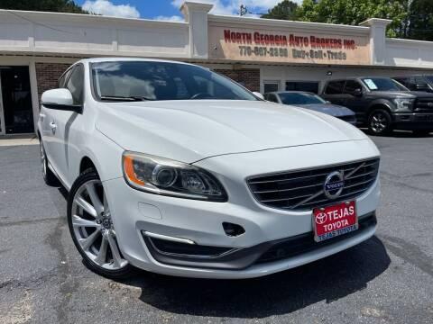 2016 Volvo S60 for sale at North Georgia Auto Brokers in Snellville GA