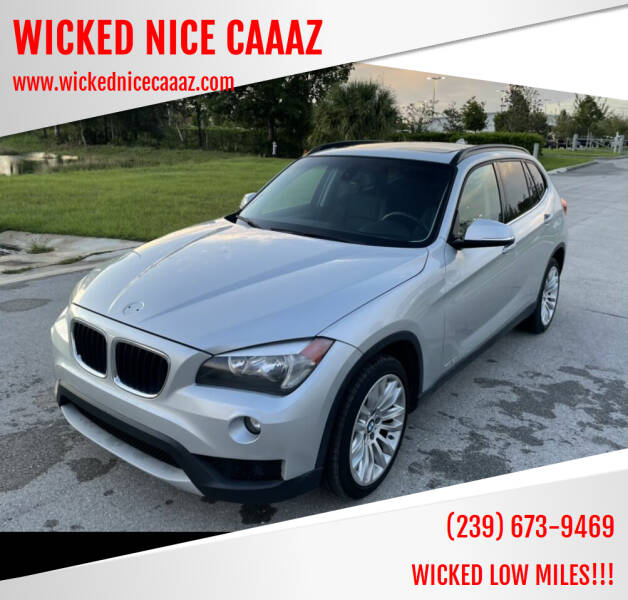 2014 BMW X1 for sale at WICKED NICE CAAAZ in Cape Coral FL