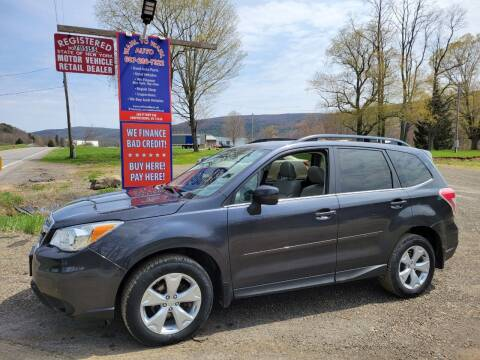 2015 Subaru Forester for sale at Wahl to Wahl Auto Parts in Cooperstown NY