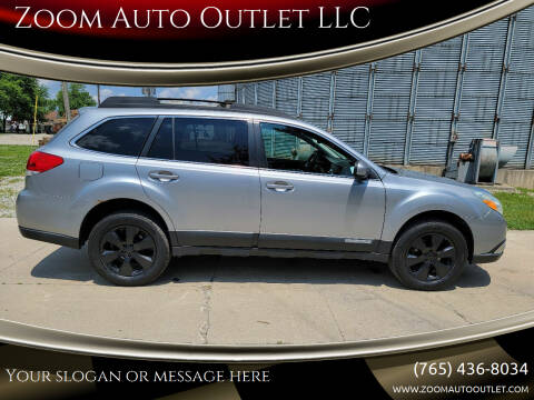 2011 Subaru Outback for sale at Zoom Auto Outlet LLC in Thorntown IN