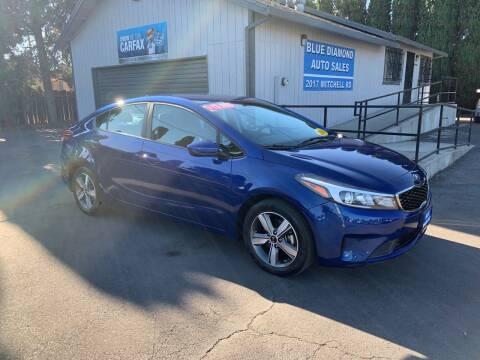 2018 Kia Forte for sale at Blue Diamond Auto Sales in Ceres CA