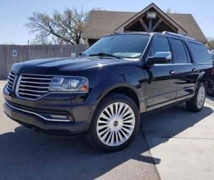 2016 Lincoln Navigator L for sale at Farha Used Cars in Wichita KS