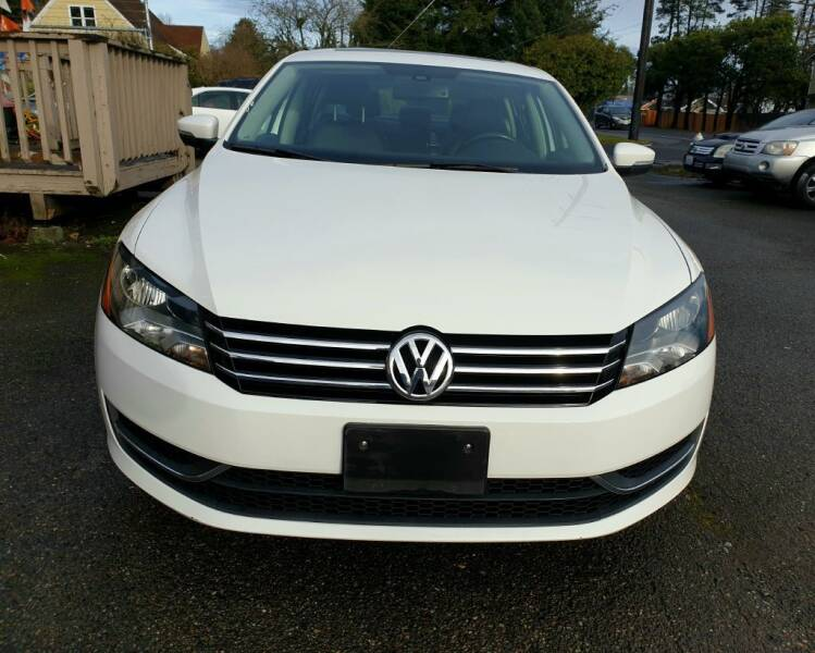 2013 Volkswagen Passat for sale at Life Auto Sales in Tacoma WA
