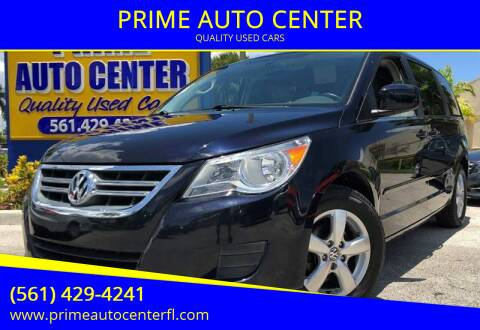 2011 Volkswagen Routan for sale at PRIME AUTO CENTER in Palm Springs FL