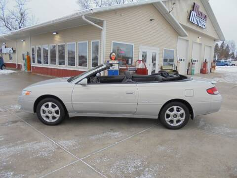 2001 Toyota Camry Solara for sale at Milaca Motors in Milaca MN