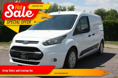 2014 Ford Transit Connect Cargo for sale at Ariay Sales and Leasing Inc. in Denver CO