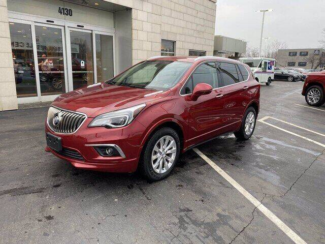 2018 Buick Envision for sale at Cappellino Cadillac in Williamsville NY