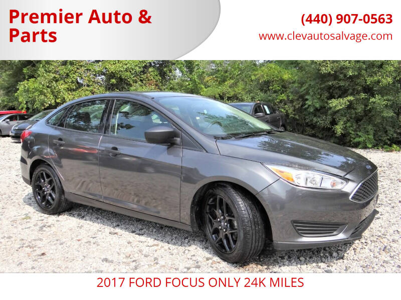 2017 Ford Focus for sale at Premier Auto & Parts in Elyria OH