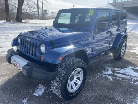 2010 Jeep Wrangler Unlimited for sale at Apple Auto in La Crescent MN