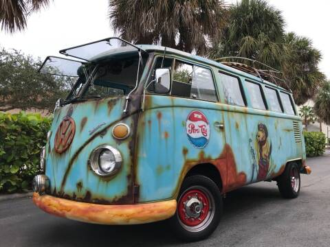 1970 Volkswagen Vanagon for sale at DS Motors in Boca Raton FL