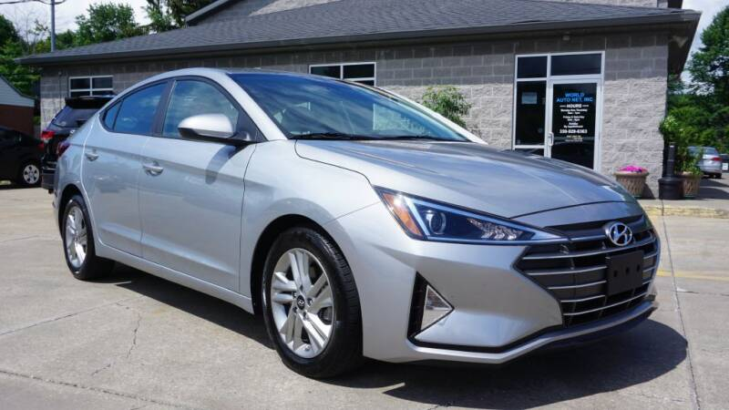 2020 Hyundai Elantra for sale at World Auto Net in Cuyahoga Falls OH