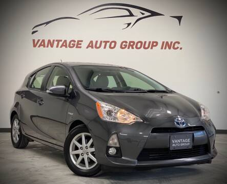 2012 Toyota Prius c for sale at Vantage Auto Group Inc in Fresno CA