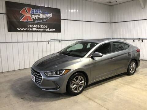 2017 Hyundai Elantra for sale at Karl Pre-Owned in Glidden IA