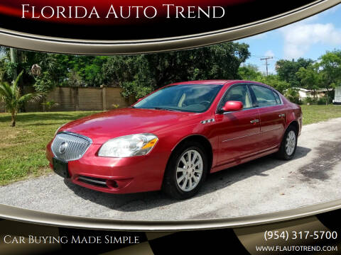 2011 Buick Lucerne for sale at Florida Auto Trend in Plantation FL