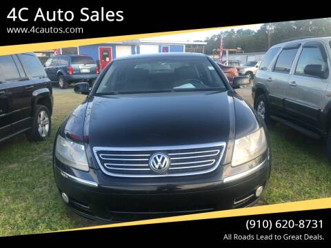 2005 Volkswagen Phaeton for sale at 4C Auto Sales in Wilmington NC