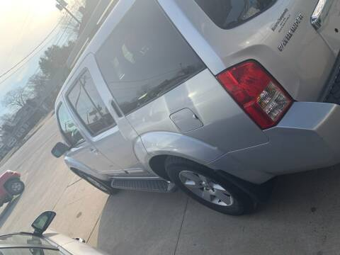 2009 Nissan Pathfinder for sale at Bizzarro's Championship Auto Row in Erie PA