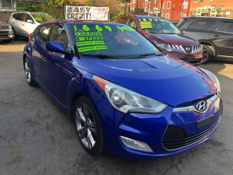 2012 Hyundai Veloster for sale at James Motor Cars in Hartford CT
