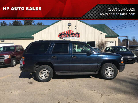 2006 Chevrolet Tahoe for sale at HP AUTO SALES in Berwick ME