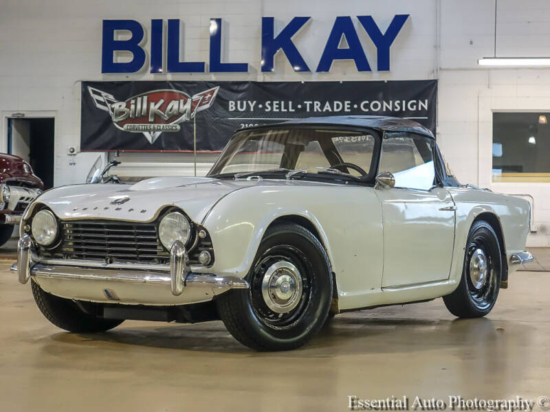 1965 Triumph TR4 for sale at Bill Kay Corvette's and Classic's in Downers Grove IL