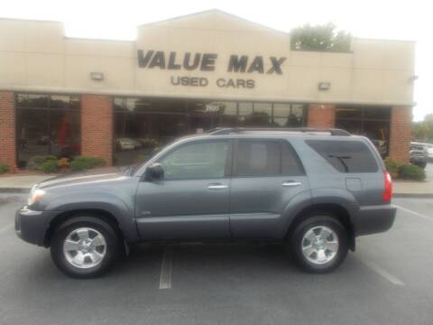 2006 Toyota 4Runner for sale at ValueMax Used Cars in Greenville NC