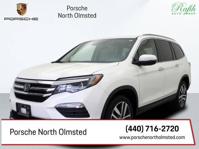 2016 Honda Pilot for sale at Porsche North Olmsted in North Olmsted OH