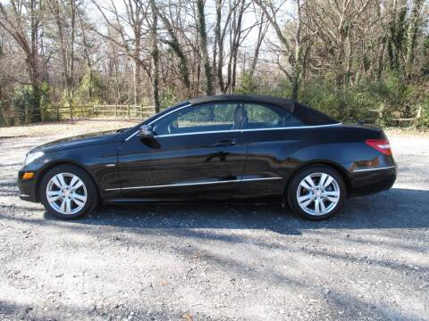 2012 Mercedes-Benz E-Class for sale at Mater's Motors in Stanley NC