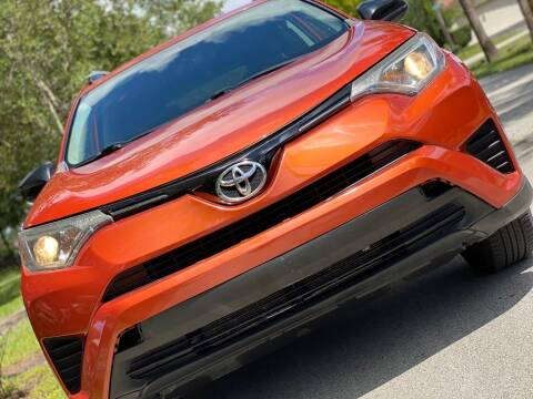 2016 Toyota RAV4 for sale at HIGH PERFORMANCE MOTORS in Hollywood FL