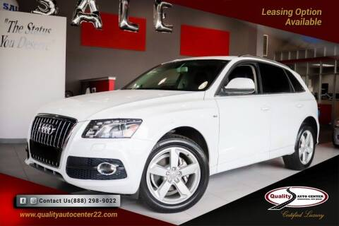 2012 Audi Q5 for sale at Quality Auto Center in Springfield NJ