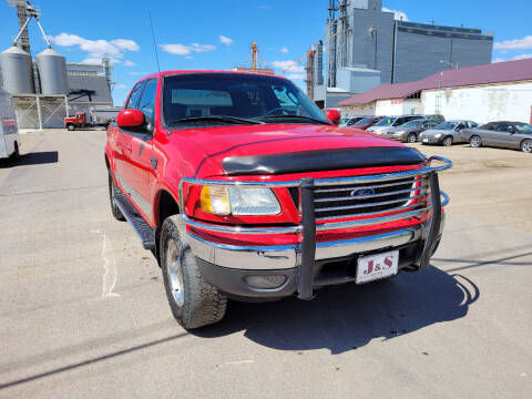 2003 Ford F-150 for sale at J & S Auto Sales in Thompson ND