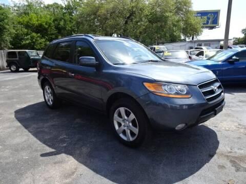 2009 Hyundai Santa Fe for sale at DONNY MILLS AUTO SALES in Largo FL