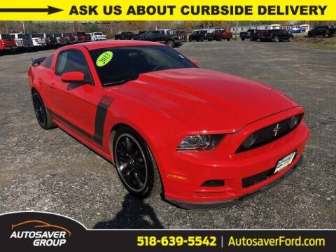 2013 Ford Mustang for sale at Autosaver Ford in Comstock NY