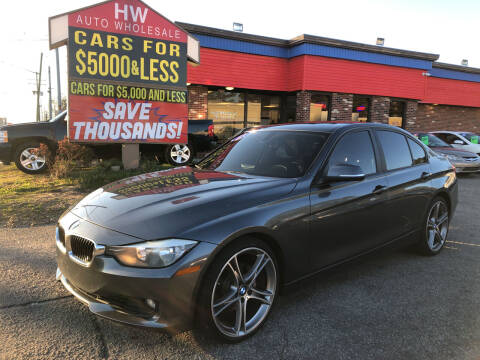 2013 BMW 3 Series for sale at HW Auto Wholesale in Norfolk VA