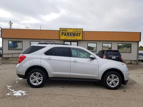 2013 Chevrolet Equinox for sale at Parkway Motors in Springfield IL