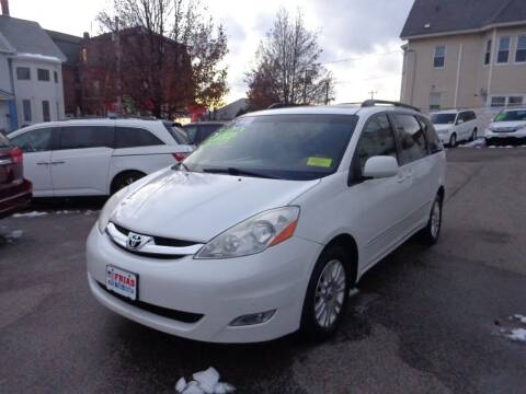 2008 Toyota Sienna for sale at FRIAS AUTO SALES LLC in Lawrence MA