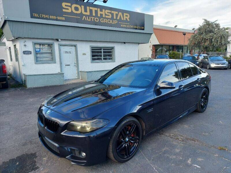2015 BMW 5 Series for sale at Southstar Auto Group in West Park FL