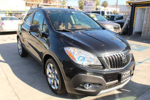 2013 Buick Encore for sale at FJ Auto Sales in North Hollywood CA
