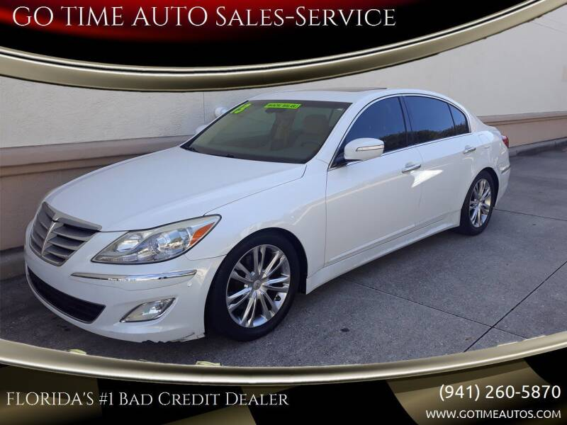 2012 Hyundai Genesis for sale at Go Time Automotive in Sarasota FL
