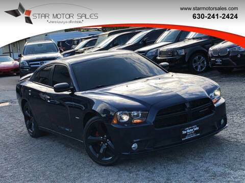 2014 Dodge Charger for sale at Star Motor Sales in Downers Grove IL
