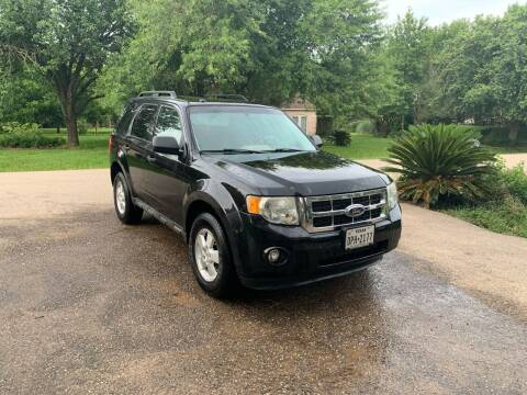 2011 Ford Escape for sale at CARWIN MOTORS in Katy TX