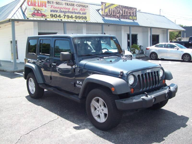 2008 Jeep Wrangler Unlimited for sale at LONGSTREET AUTO in St Augustine FL