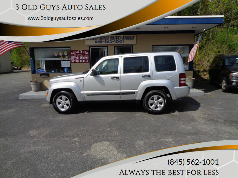 2010 Jeep Liberty for sale at 3 Old Guys Auto Sales in Newburgh NY