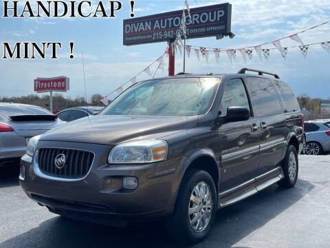 2007 Buick Terraza for sale at Divan Auto Group in Feasterville PA