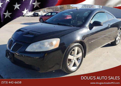 2006 Pontiac G6 for sale at Doug's Auto Sales in Columbia MO