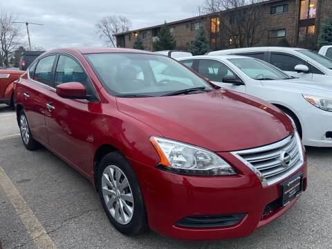 2013 Nissan Sentra for sale at European Auto Sales in Bridgeview IL