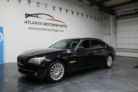 2012 BMW 7 Series for sale at Atlanta Motorsports in Roswell GA