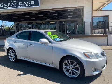 2007 Lexus IS 250 for sale at Great Cars in Sacramento CA