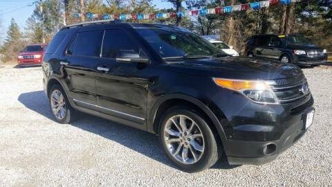 2014 Ford Explorer for sale at Victory Auto Sales LLC in Mooreville MS